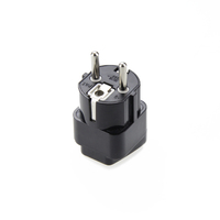 Переходник (Universal Plug Adapter for Germany, France, Europe, Russia & more(Type E/F))
