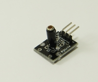 проверен DIY Vibration Switch Sensor Module for Arduino - Black