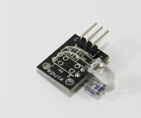 KEYES KY-039 Finger Heartbeat Detection Sensor Module for Arduino - Black + White
