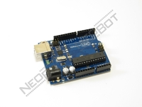 Arduino UNO R3 + Arduino LCD 1602 Keypad Shield V2.0 LCD1602 Expansion Board Building